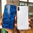 Luxury Tempered Glass Conch Shell Dream Girls Case For iPhon