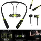 New Black Bluetooth Wireless Head Phones Mic For Samsung Galaxy Phone Cases