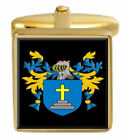Flaws Scotland Family Crest Coat Of Arms Heraldry Cufflinks Box Set Engraved