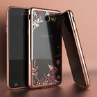 For Samsung Galaxy J7 Sky Pro/J7 Prime Luxury Crystal Bling TPU Clear Case Cover