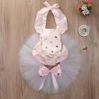 Newborn Baby Girls Unicorn Lace Tutu Romper Fancy Dress Outfits Kids Costume UK