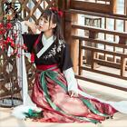 Dress Skirt Top Ancient Chinese Hanfu Fashion Dress Women Girl Flower Embroide