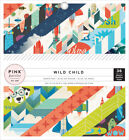 """Pink Paislee Single-Sided Paper Pad 6""""X6"""" 36/Pkg-Wild Child - Boy - 3 Pack"""
