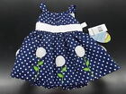 Infant Girls American Princess Assorted Polka Dot Dresses Sz 3 Months - 24 Month