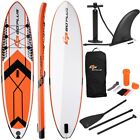 SUP Inflatable Stand up Paddle Board Adjustable Backpack Sea Surfing Sports US