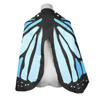 Ladies Fabric Soft Butterfly Wings Shawl Fairy Nymph Pixie Costume Accessory UK
