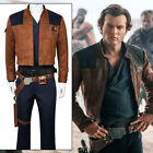 Solo A Star Wars Story Han Solo Cosplay Costume Jacket Pants Shirt Suit Uniform $105.99 USD on eBay