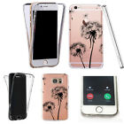 Silicone 360° Full Protection Cover Case For Most Mobiles close up dandelion