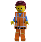 MASCOT COSTUME FANCY DRESS FOR ADULTS LEGO MAN ALL SIZES AVAILABLE NEW
