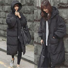 Roiii US Women Winter Down Parka Coats Warm Long Hooded Thick Top Quality Jacket