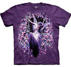 Angel Gatekeeper Purple T-Shirt by The Mountain Fantasy Cotton Tee Size Small S image