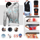 Men Women USB Charge Heated Wind Resistant Sleeveless Vest J