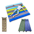 Outdoor Inflating Air Bed Sleeping Mat Camping Pad Seat Foam Portable Hiking New