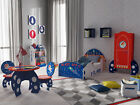 Kidsaw Explorer Space Toddler Bed, Wardrobe, Table and Chairs, Bookcase Cotbed