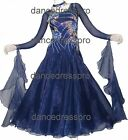 #2871 Ready-made Ballroom Modern Waltz Tango Dance Dress