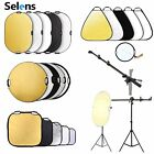 Photography Reflectors 5-in-1 Portable Collapsible Light Panel for Photo Studio