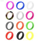 D4D5 Silicone Rings Women Sport Rubber Band Comfortable Elegant Flexible Soft