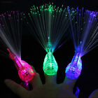 7337 Finger Light Up Ring Laser LED Party Rave Glow Beams Peacock Light Toys