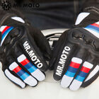 Cafe Racer Leather Touch Screen Glove Style BMW Motorrad Rider SBK Honda S1000RR