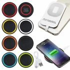 Qi Wireless Charger Dock Charging Pad Mat Receive for iPhone X 8 8+ Samsung S9
