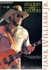 """HANK WILLIAMS JR. """"FINDERS ARE KEEPERS"""" SHEET MUSIC-PIANO/VOCAL/GUITAR-1988-NEW!"""