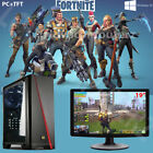 Fast Core I5 Gaming Pc + Monitor Bundle 8gb Ram 1tb Hdd Fortnite Computer