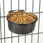 Dog Crate Feeding Bowls Bolt On Cage Cup 8oz Capacity Pick Sandstone or Graphite