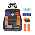 Tactical Vest Refill Magazine Darts Strap Kits for Nerf Blaster Outdoor Game Toy