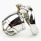 """SMALL MALE Chastity Devices 1.77"""" Short Cage Stainless Steel Chastity Belt S741"""