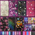 *LEATHER PROTECT WALLET BOOK SECURE FLIP PHONE CASE COVER FOR LG K5 K6 K8 & MORE