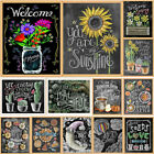 Внешний вид - Full Drill 5D Diamond Blackboard Painting Embroidery DIY Cross Stitch Craft