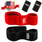Wide Hip Resistance Bands Loop Circle Exercise Workout Fitness Yoga + Wristband  image