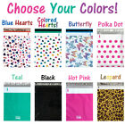10-100) Pack 14x19 Designer Poly Mailers, Plastic Mailing Bag Shipping Envelopes