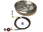 Create Your Own Gas Fire Feature w/ a Basic Complete Kit - Choose Burner and Pan