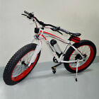 Electric Fat Tire E Bike Best Big Wheel Electronic Bicycle 36V 10.4Ah