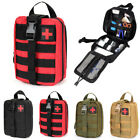 First Aid Kit Tactical Survival Kit Molle Rip-Away EMT Pouch Bag IFAK Medical kd