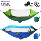 Portable Tent Camping Hammock Mosquito Net Rain Cover Waterproof Windproof Bed