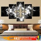 5 Panel New Orleans Saints Logo Sport Canvas HD Prints Painting Wall Art Decor on eBay