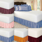 Wrap Around Elastic Bedding Bed Dressing Easy Fit  Dustproof Bed Skirt 1.5m/2m image