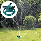 3 Nozzle Rotating Sprinkler Garden Lawn Grass Watering System Water Hose Spray