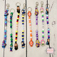Character Personalised Keyring or Bag Zip Clip Harry Potter Toy Story & More