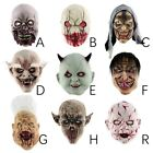 Halloween Scary Adult Bloody Zombie Skeleton Face Mask Costu
