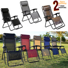 No Gravity Chair Outdoor Case for Lounge Patio Yard Beach Recline Position Relax