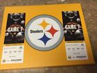 Steelers Panthers Thursday November 8  2 Tickets