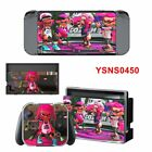 Game Splatoon 2 Decal For Nintendo Switch Console Joy-con Controller Sticker