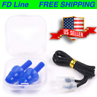 Silicone Ear Plugs, Corded Noise Cancelling Earplugs, Hearing Protection