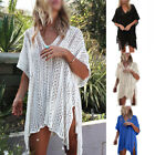 Women Lace Crochet Bikini Beachwear Cover up Beach Dress Sum