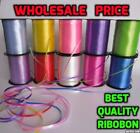 Florist Ribbon 30, 50, 100 Metre Roll - Wedding Party Floral - Assorted Colours