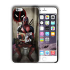 Super Hero Deadpool Iphone 4 4s 5 5s 5c SE 6 6s 7 8 X XS Max XR Plus Case n13