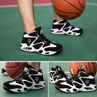 Basketball Training Shoes with Air Cushion Men Lace up Sports Shoes JX658172 UM